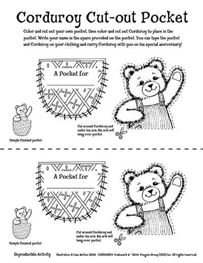 Worksheet. Corduroy Downloadable Activities  The Official Website for Corduroy